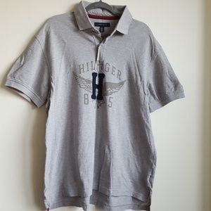 0953bf8fd Tommy Hilfiger Spellout Polo Shirt w/ H Wings 85